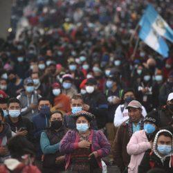 """Manifestaciones en todos los puntos del país durante el """"Paro Nacional"""""""
