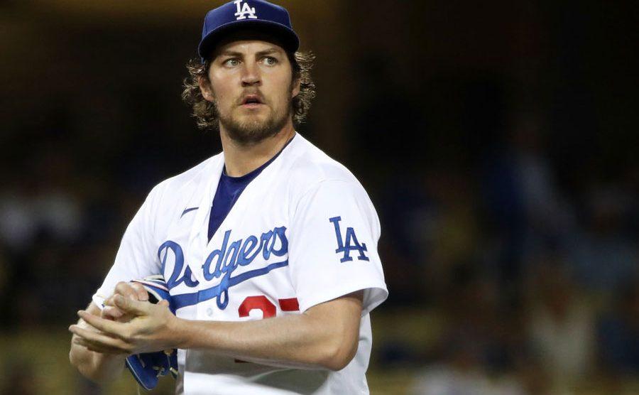 Trevor Bauer, pitcher de Dodgers