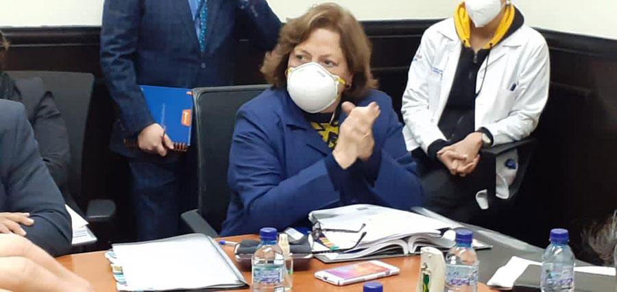 Nancy Pezzarossi, viceministra Administrativa del Ministerio de Salud