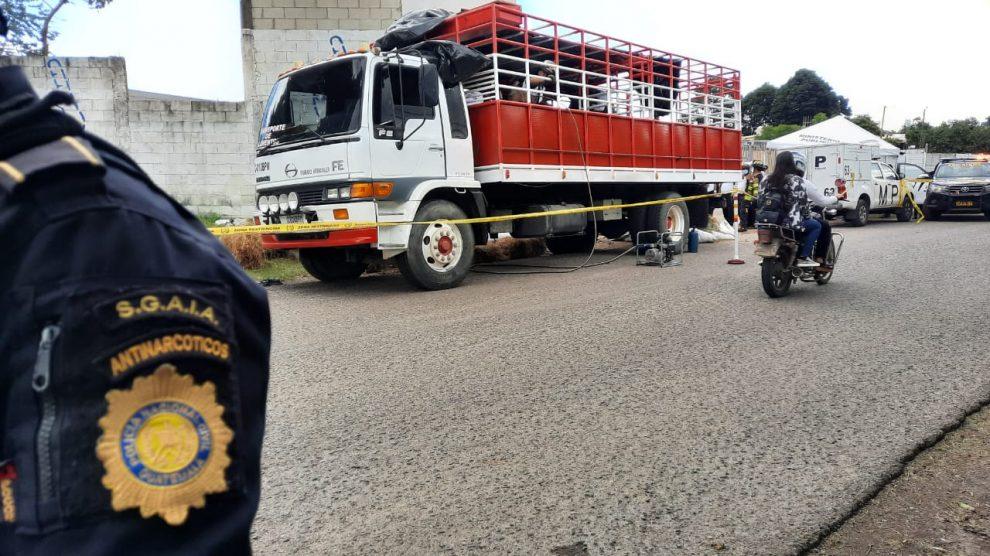 Autoridades efectúan un operativo en Palencia por posible transporte de droga.
