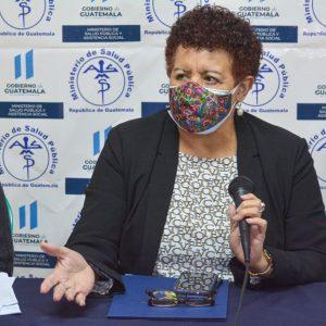 Amelia Flores, ministra de Salud Pública