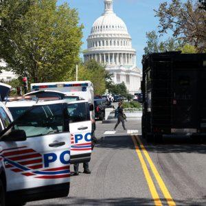 Amenaza de bomba cerca del Capitolio, en Washington