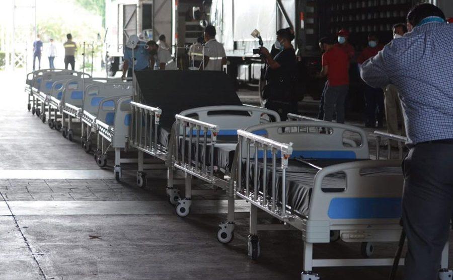 Donación de camas hospitalarias al hospital del Parque de la Industria
