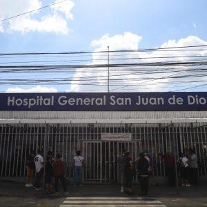 Fachada del Hospital General San Juan de Dios