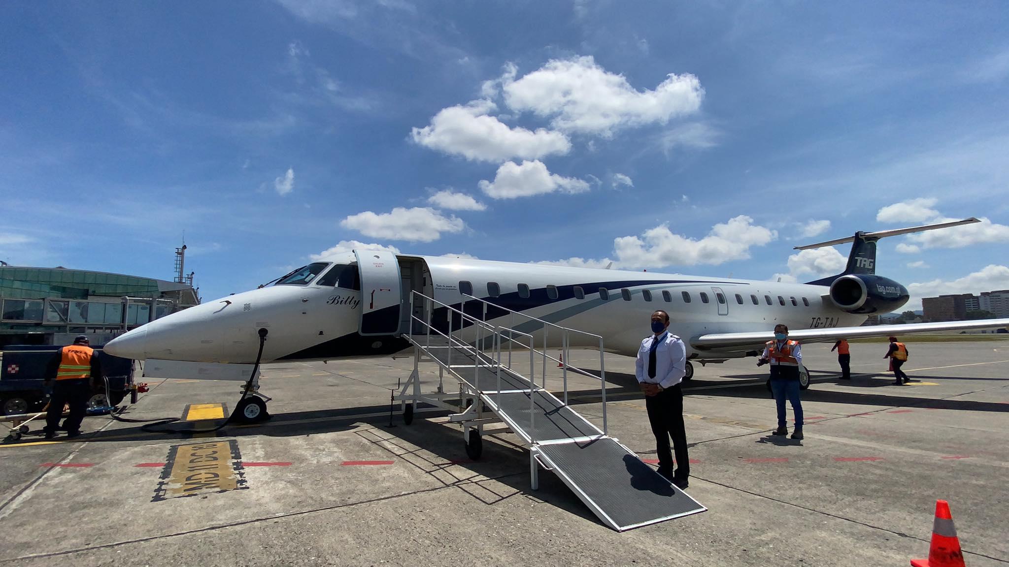 Inauguran vuelo directo de Guatemala a Tapachula