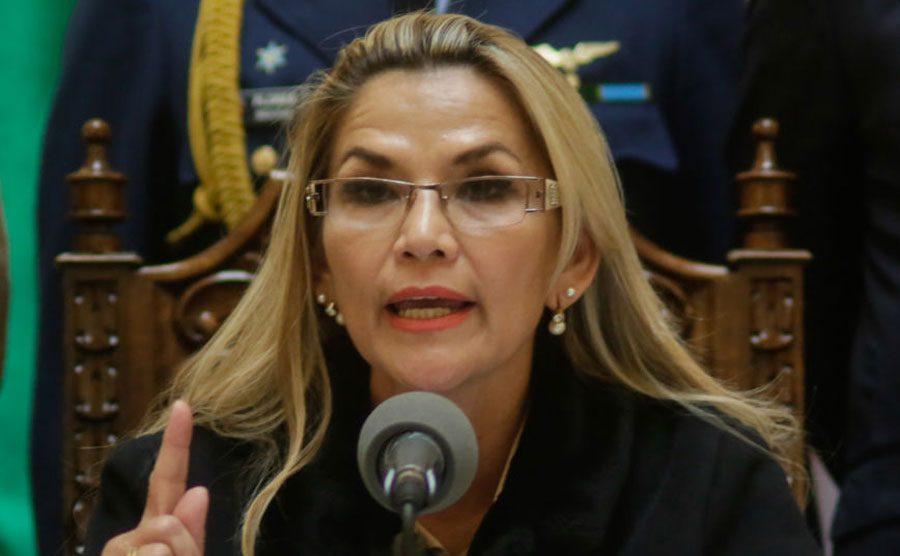 Jeanine Añez, expresidenta de Bolivia
