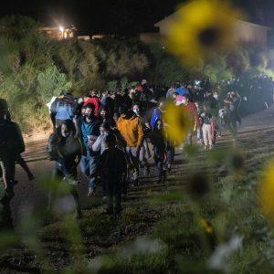 Migrantes indocumentados en Río Grande