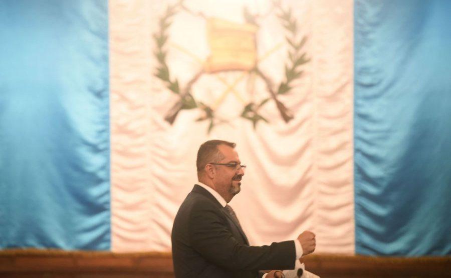 Ministro de Cultura y Deportes, Felipe Aguilar