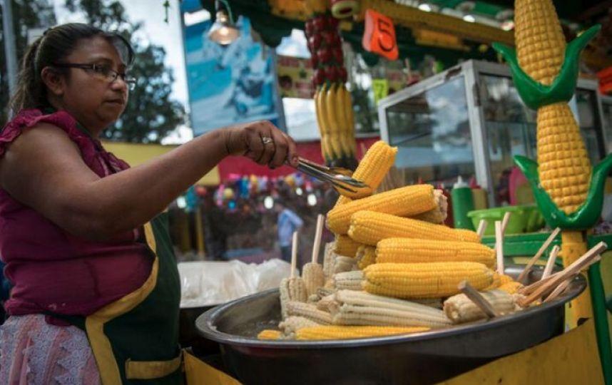 Antojitos de feria guatemaltecos