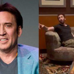 VIDEO. Confunden a Nicolas Cage con indigente y lo sacan de restaurante en Las Vegas