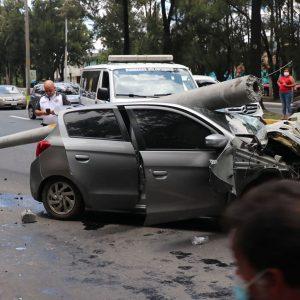 Accidente de tránsito en el Anillo Periférico