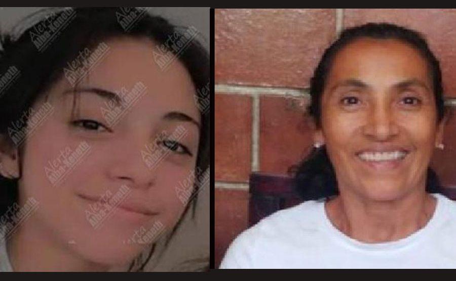 Angie Caseros y Blanca Ramírez, su mamá