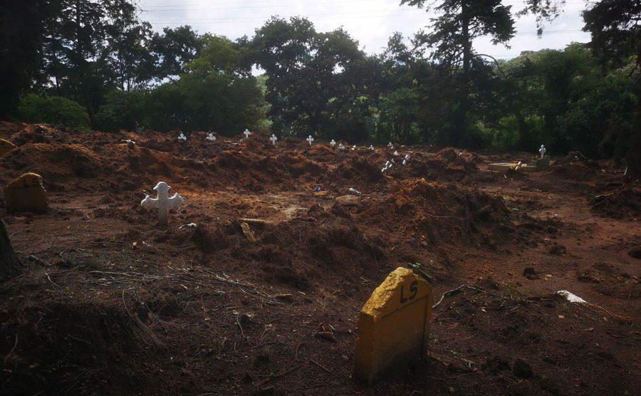 Área para enterrar XX en cementerio La Verbena