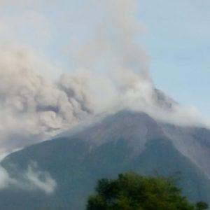 volcán de fuego conred insivumeh