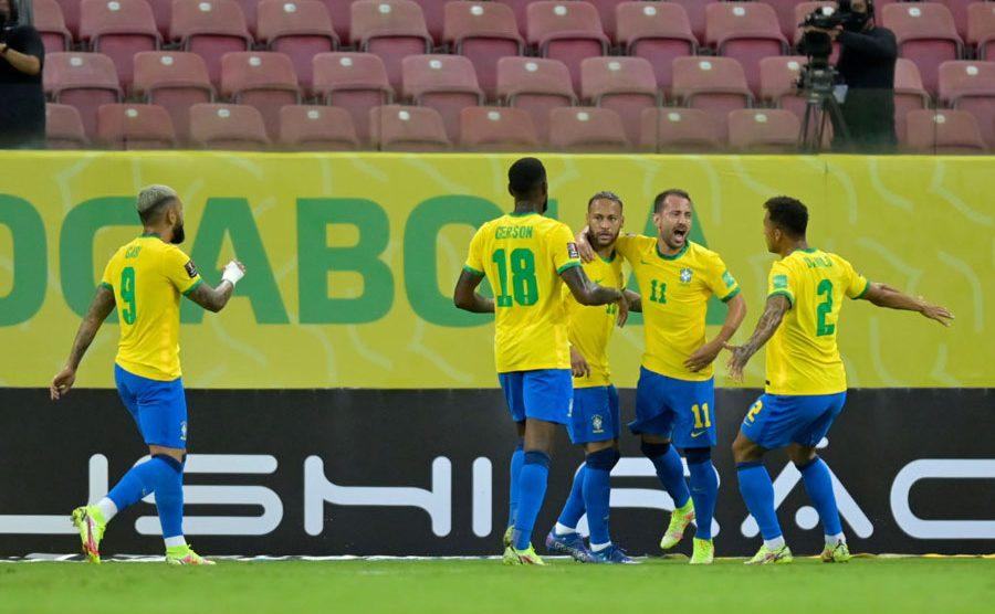 Brasil derrotó a Perú en partido por Eliminatorias Sudamericanas