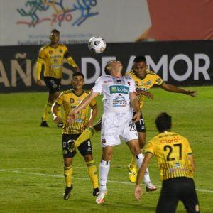 Guastatoya y Alajuelense empatan en octavos de la Liga Concacaf