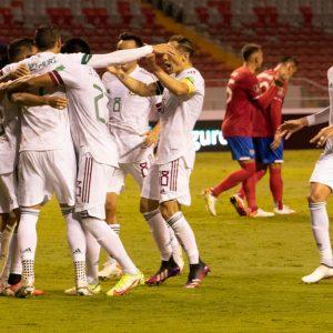 México derrotó a Costa Rica en la segunda jornada del octogonal de Concacaf