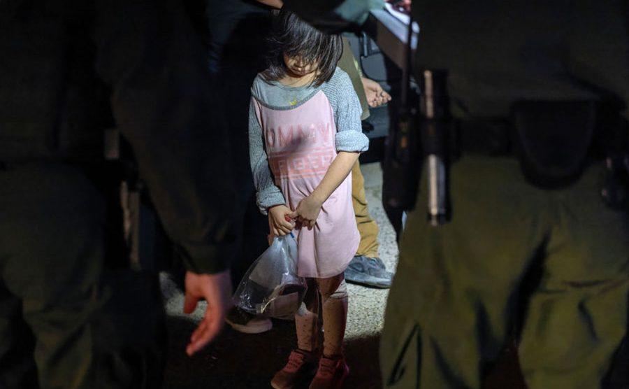 Niña migrante en Estados Unidos