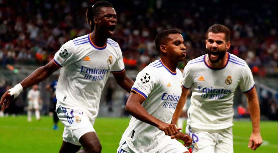 Real Madrid derrotó por la mínima el Inter de Milán