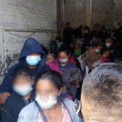 Localizan a 39 guatemaltecos retenidos en una casa de México