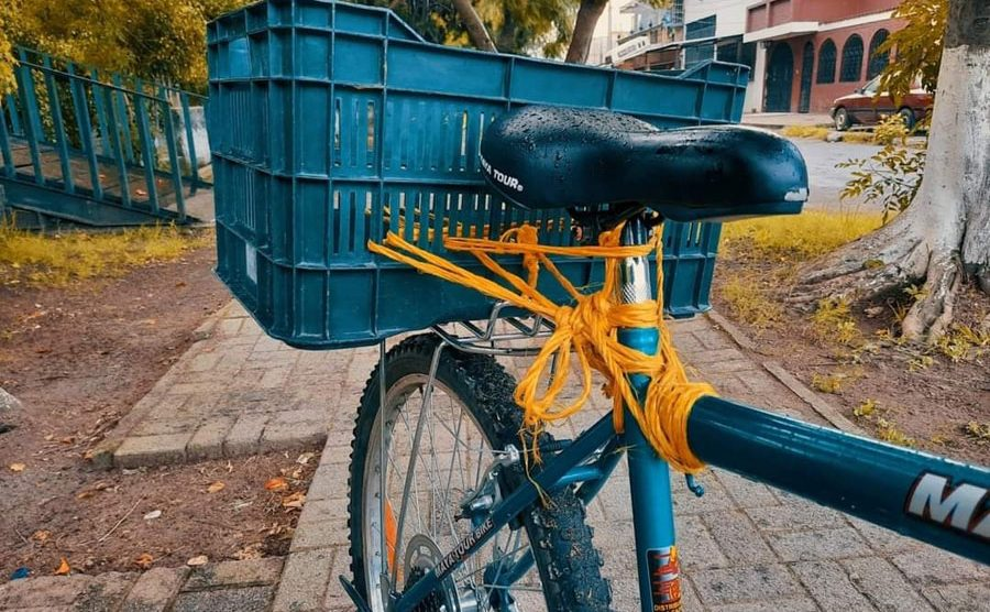 Roban bicicleta a emprendedor de Villa Nueva