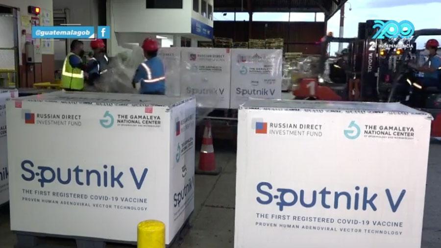 Lote de 700 mil dosis de Sputnik V