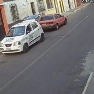 grabación abuso sexual taxista zona 18 colonia landívar zona 7
