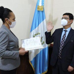 Ariel Estuardo Hernández Cardona, viceministro Administrativo de Salud