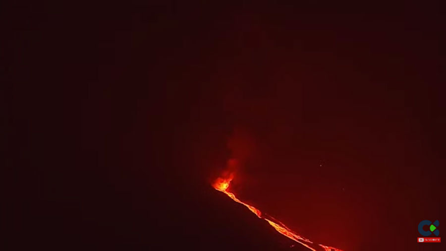 Erupción del volcán Cumbre Vieja