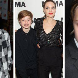 Shiloh Jolie-Pitt ¿detuvo su cambio de sexo? y aparece en vestido corto