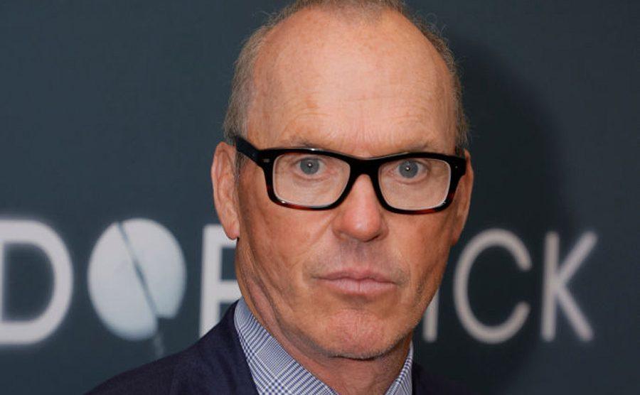 Michael Keaton promocionando Dopesick
