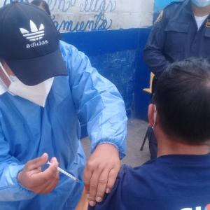 vacunación contra Covid-19 en cárceles