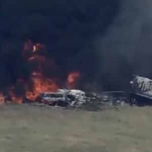 Accidente de avión en Houston, Texas